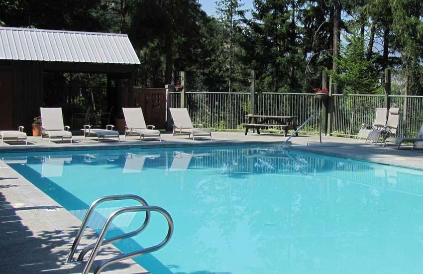 Kelly's swimming pool