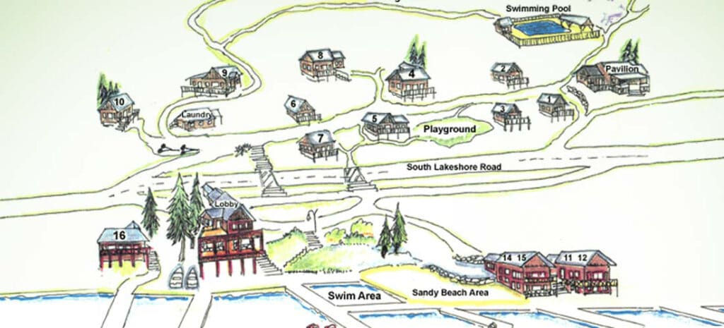 Kelly's Resort Property Map