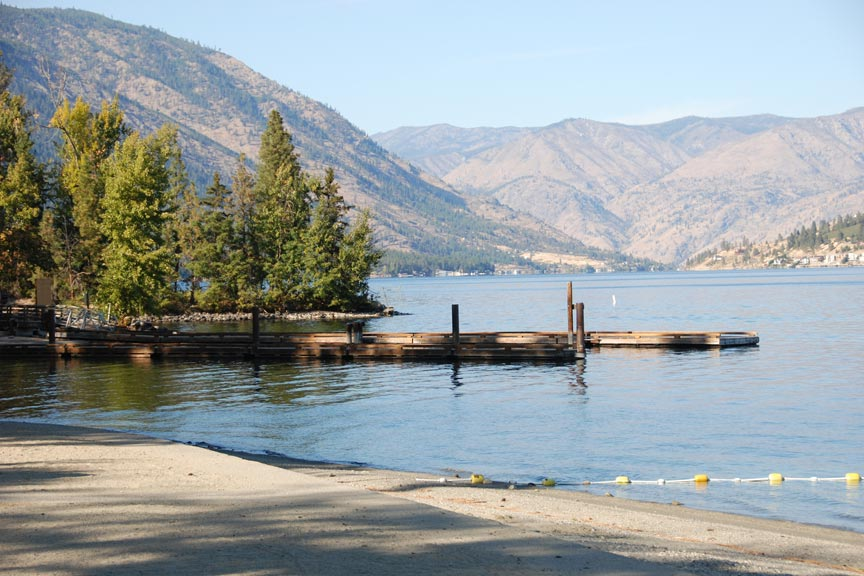 Lake Chelan Beaches