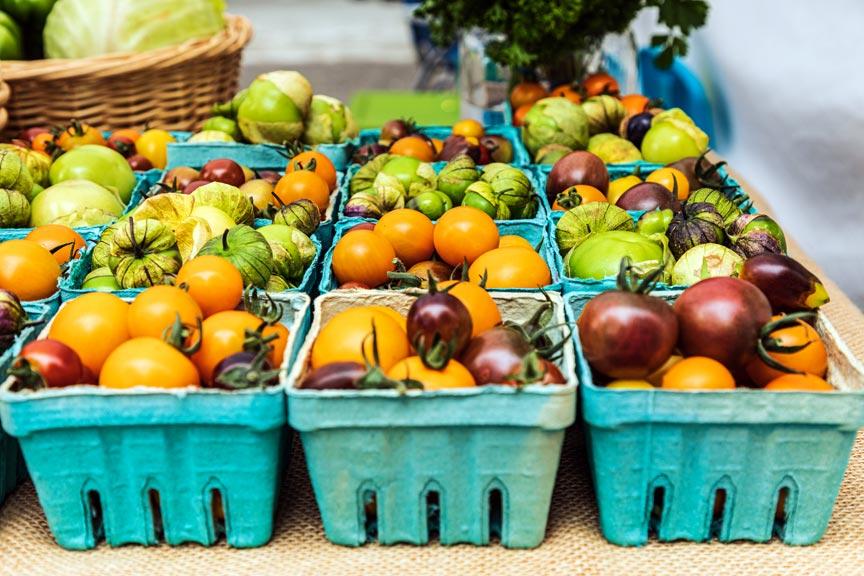 Tomatoes Chelan Farmers Market