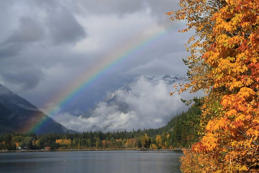 Stehekin in fall