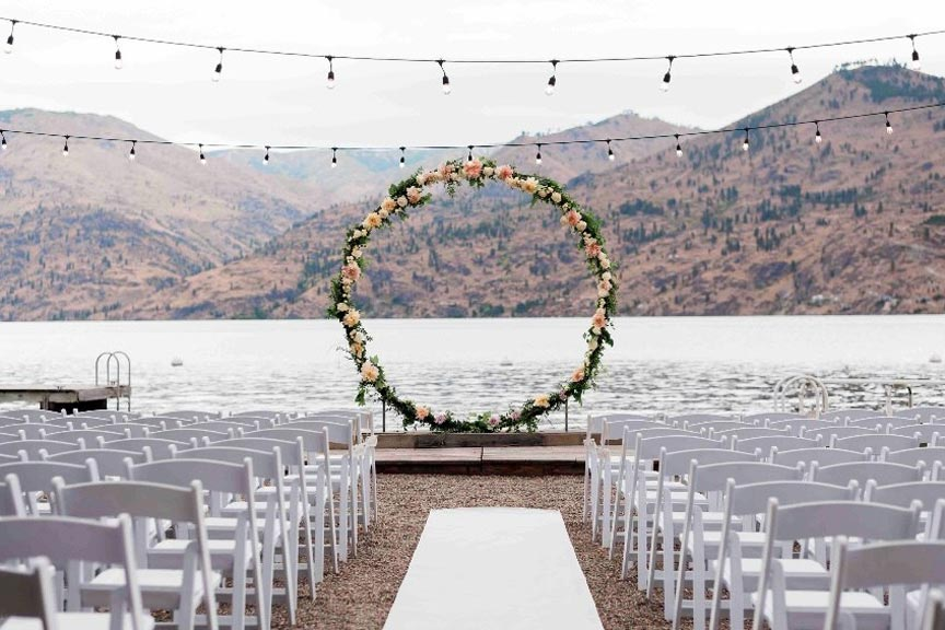 A Lake Chelan Wedding at Kelly's Resort
