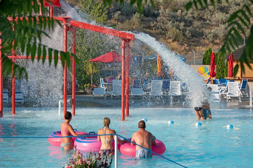Slidewaters Lake Chelan water park