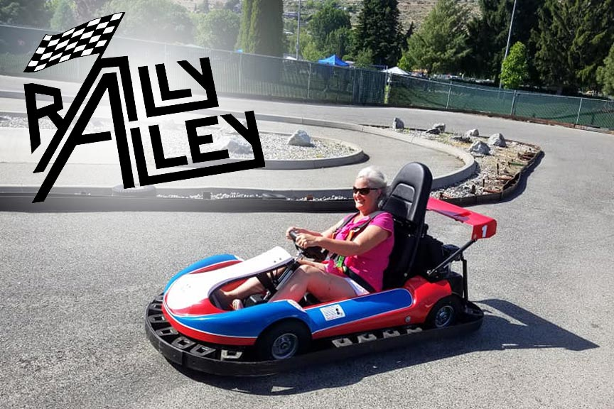 Rally Alley Go-Karts in Chelan