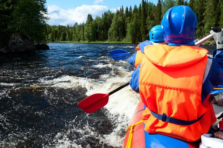 Methow River rafting